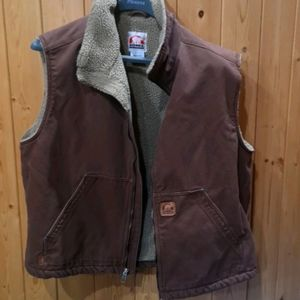Sorel work vest.